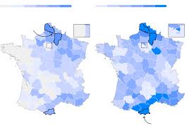 Normandy France Map French Election Second Round Maps