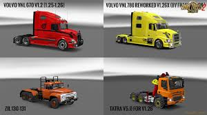 trak volvo volvo vnl truck shop v1 2 1 6 x zagruzka mods com download