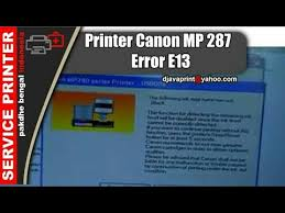 cara reset printer canon mp258 error e13 printer canon mp 287 error e13 youtube
