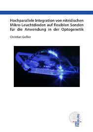 hochparallele integration von nitridischen mikro leuchtdioden auf