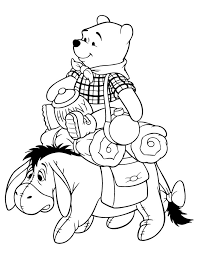127 pooh images coloring adults coloring