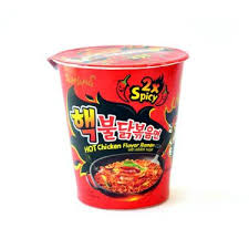 cup cuisine samyang chicken flavour ramen cup 2x spicy instant
