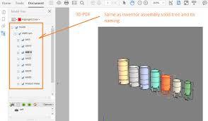 3d pdf autodesk community