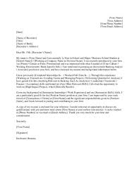What To Title Your Resume Investment Banking Cover Letters Investment Banking Cover
