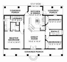house plans with porches on front and back new 2 bedroom house plans with covered back porch house plan