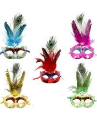 peacock mardi gras mask masquerade theme all party supplies wally s party