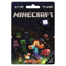minecraft cards minecraft pc mac gift card gift cards grainger