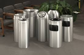 Designer Kitchen Trash Cans by Ideas Wall Mounted Trash Receptacle Trash Receptacles Plastic