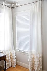 Sewing Drapery Panels Together Ruffled Curtains Maison De Pax