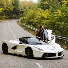 purple laferrari josh cartu u0027s white laferrari aperta is simply breathtaking