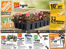 home depot april 1 spring black friday deal home depot ad deals 4 18 4 24 5 off coupon 10 itunesgift