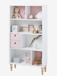 étagères chambre bébé etagère bibliothèque ligne romantique vertbaudet