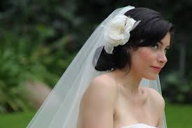 wedding hairstyles ideas elegant white wedding hair flowers and