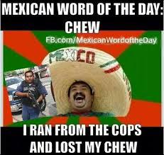 Spanish Word Of The Day Meme - mexican wotd beaner mexican word of the day pinterest