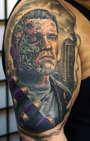 christian lucca tattoo geek dans la peau 71 terminator techartgeek