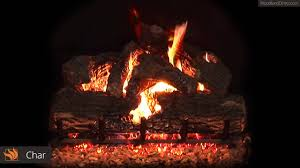 real fyre charred oak vented gas log set youtube
