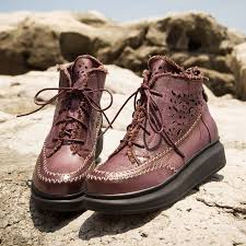 womens boots handmade handmade womens lace up ankle boots cw305567