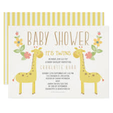 twins baby shower invitations u0026 announcements zazzle