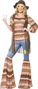 foto hippie figli dei fiori costume hippy donna figlia dei fiori costumi adulti e vestiti di