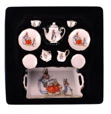 beatrix potter tea set beatrix potter rabbit dolls house porcelain tea set pink