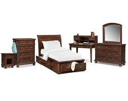 shop kids bedroom furniture value city furniture the hanover youth bedroom collection cherry
