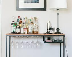 bar industrial bar cart wonderful bar cart and wine rack ikea