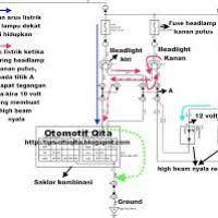 wiring diagram kelistrikan pada mobil kijang yondo tech
