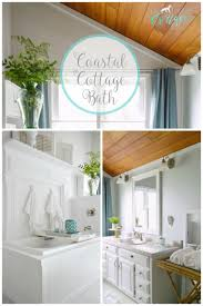 Bathroom Make Over Ideas by Nod To Nautical Bathroom Makeover Reveal Fox Hollow Cottage