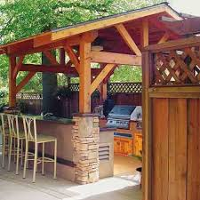 outdoor kitchen roof ideas 27 beautiful outdoor kitchen designs ideas and simple plans for
