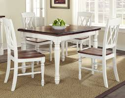 image of rustic square oak kitchen table love square dining room