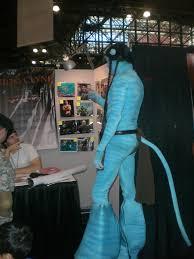 avatar navi costume leg warmers costume fail