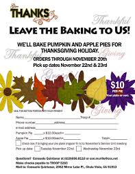 we ll bake your thanksgiving pies sunnytrails scout service