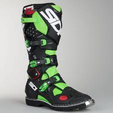 sidi motorcycle boots sidi crossfire 2 mx boots fluo green black now 11 savings 24mx