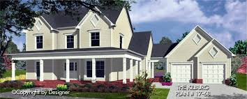 farmhouse style home plans kilburg house plan house plans by garrell associates inc