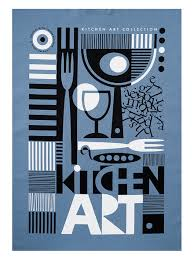 kitchen art design what an amazingly eclectic kitchen artwork