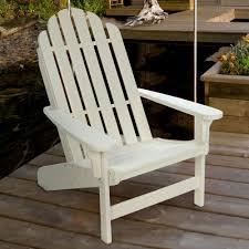 Lifetime Folding Chairs Lifetime Essential Adirondack Chair White Nhh Durawood Dfohome