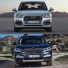 photo comparison 2018 audi q5 vs 2018 bmw x3