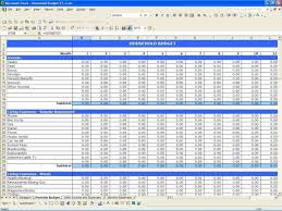 example of business expenses spreadsheet job and resume template