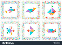 stock vector set dogs collection printable solution cards