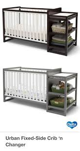 Storkcraft Portofino Convertible Crib And Changer Combo Espresso by 19 Best Baby Crib With Changing Table Attached Images On Pinterest