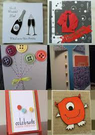 handmade birthday cards for boys guys dads fathers