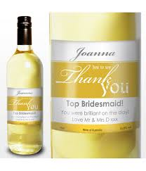Good Wine For Gift White Wine Thank You Label Just For Gifts