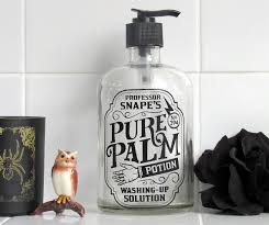 harry potter bathroom accessories harry potter soap dispenser snape potion by clearstoryglass home