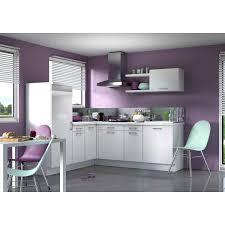 cuisine angle pas cher cuisine équipée violet galerie avec cuisine angle pas cher equipee