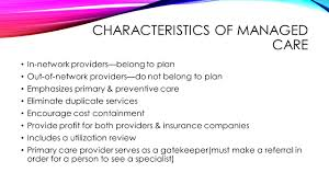Cost Plan by Health Insurance Plans Background Info Cost Is A Major Concern