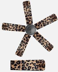 ceiling fan blade size for room fancy blade home decor ceiling fan blade cover animal print leopard