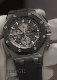 fsot bnib audemars piguet royal oak offshore chrono 44mm titanium