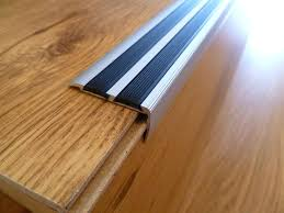 powder coated black non slip stair nosing clear anti slip stair