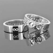 shotgun wedding ring infinity ring wedding band wedding ring engagement by jubilejewel