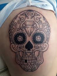 best sugar skull artist cool tattoos bonbaden
